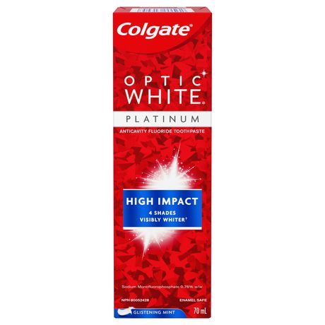 Colgate Optic White Platinum High Impact White Glistening Mint Toothpaste - image 1 of 1