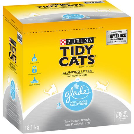 Purina 174 Tidy Cats 174 With Glade Clear Springs Clumping Cat