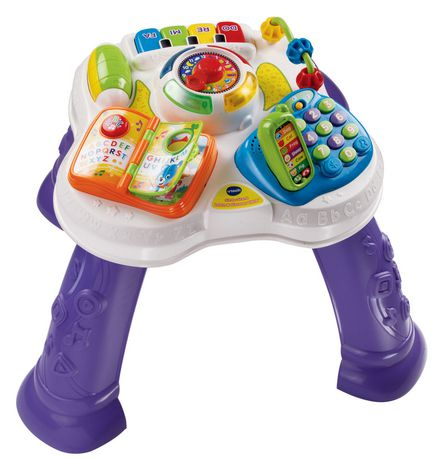 Vtech English Version Sit To Stand Learn Amp Discover Table