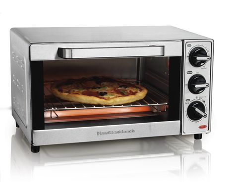Hamilton Beach 4 Slice Toaster Oven 31401C - image 1 of 5