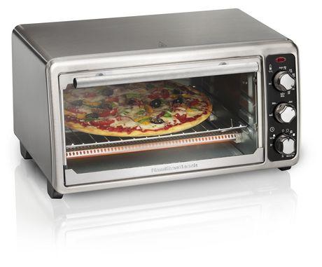 Hamilton Beach 6 Slice Toaster Oven 31412C - image 1 of 6