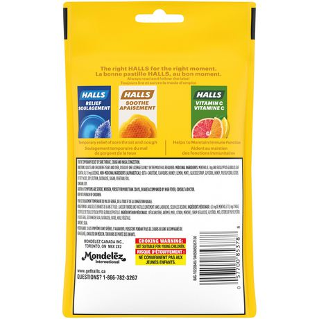 Pastilles Halls contre la toux miel-citron - image 2 de 2