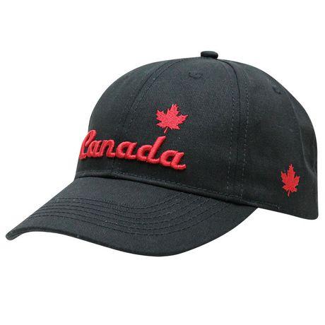Canadiana casquette de baseball avec broderie 3D pour hommes - image 1 de 1