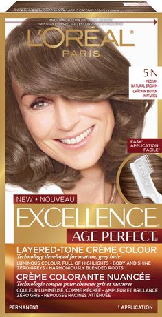 L'Oreal Paris Excellence Age Perfect Permanent Hair Colour - image 1 of 1