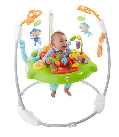 Fisher-Price Roarin' Rainforest Jumperoo - image 3 of 7