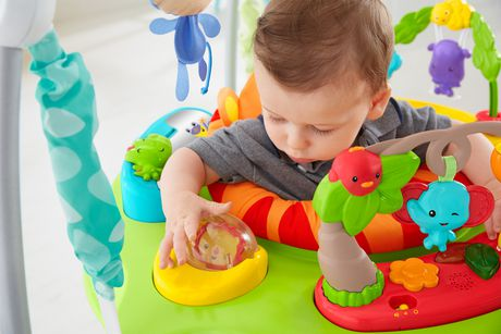 Fisher-Price Roarin' Rainforest Jumperoo - image 4 of 7