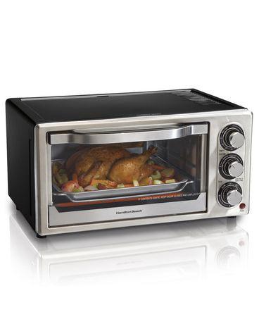 Hamilton Beach Convection 6 Slice Toaster Oven