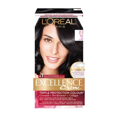 coloration des cheveux permanante triple protection colour excellence crme de loreal paris walmartca - Coloration Excellence