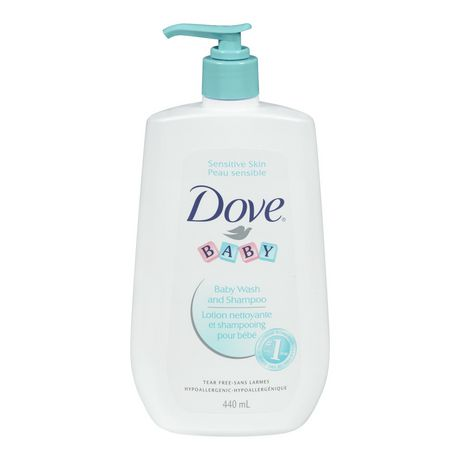 Dove® Baby Sensitive Skin & Tear Free Wash & Shampoo - image 2 of 2