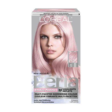 loreal paris fria smokey pastels permanent hair colour - Loreal Paris Coloration
