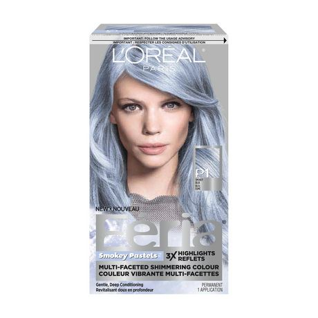 L'Oreal Paris Féria Smokey Pastels Permanent Hair Colour ...