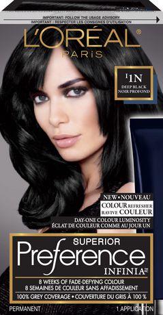 coloration des cheveux permanante superior preference infinia de loreal paris - Coloration Temporaire L Oreal