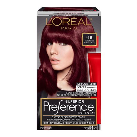 1 - L Oreal Coloration Rouge