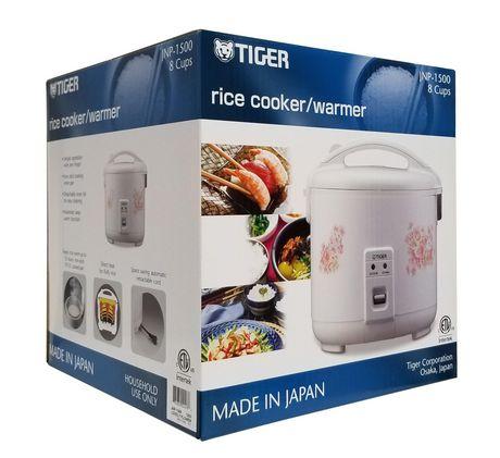 Cuiseur à riz conventionnel Tiger 8 Cup JNP Series - image 2 de 2