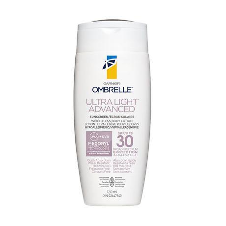 Garnier Ombrelle Ultralight Ultra-Light Advanced Sun Protection Body Lotion - Spf 30 - image 1 of 1