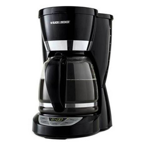 Black And Decker Gt300 Coffee Maker : Black & Decker 12-Cup Programmable Coffeemaker- CM1050WD Walmart Canada