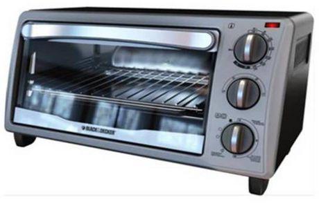 Black Amp Decker 4 Slice Black Toaster Oven Walmart Canada