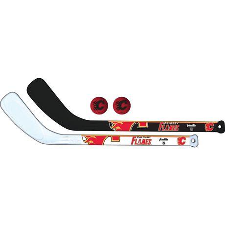 Franklin Sports Nhl Calgary Flames Canadiens Mini Hockey Player