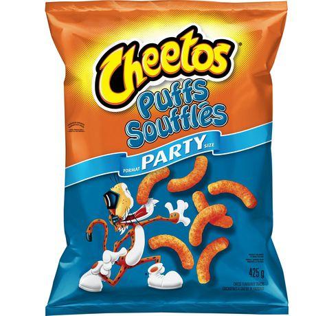 Soufflés grignotines à saveur de fromage de Cheetos format familial - image 2 de 4