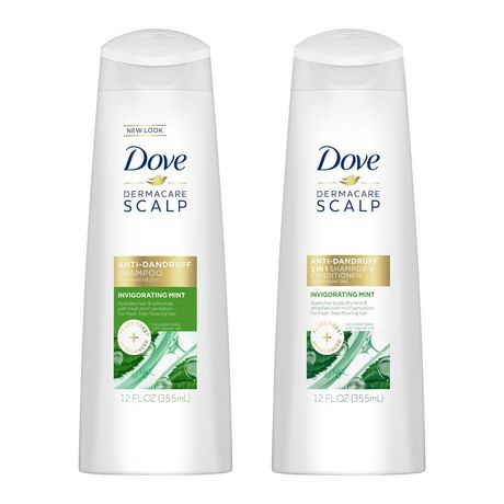 Dove Anti Dandruff Invigorating Mint Shampoo and Conditioner - image 3 of 5