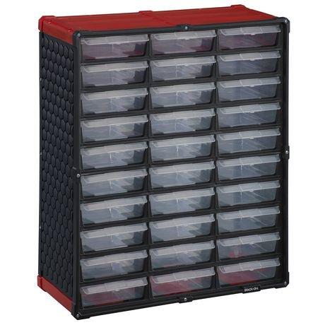 Stack On 30 Drawer Storage Cabinet Walmart Canada