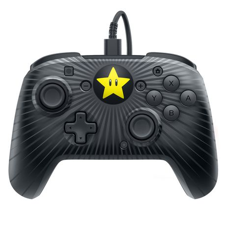 PDP Nintendo Switch Faceoff Wired Pro Controller - Mario Star - image 1 of 6