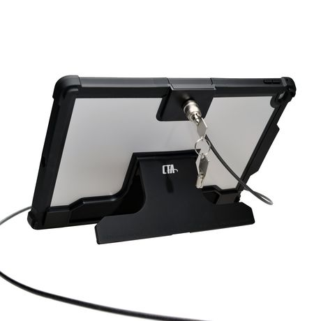 CTA Digital CTA Security Case with Kickstand And Anti-Theft Cable for iPad PRO 12.9 - image 1 of 4