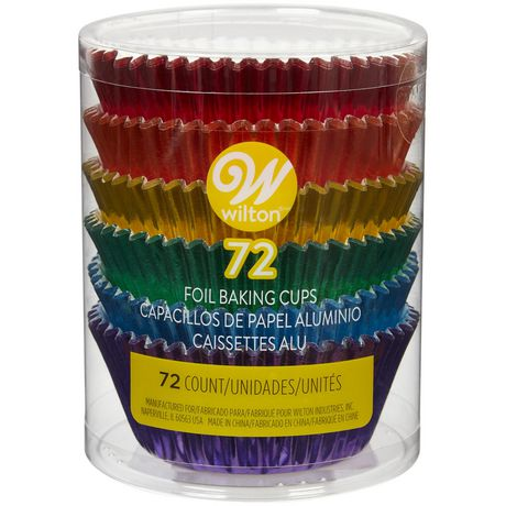 Wilton Multicolored Foil Cupcake Liners - image 1 of 3