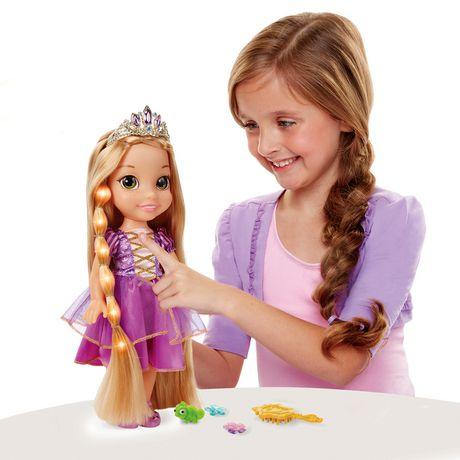 Disney Princess Glow N Style Rapunzel Doll - image 2 of 2
