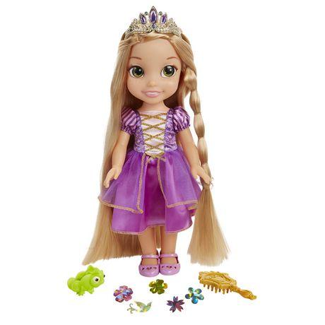 Disney Princess Glow N Style Rapunzel Doll - image 1 of 2