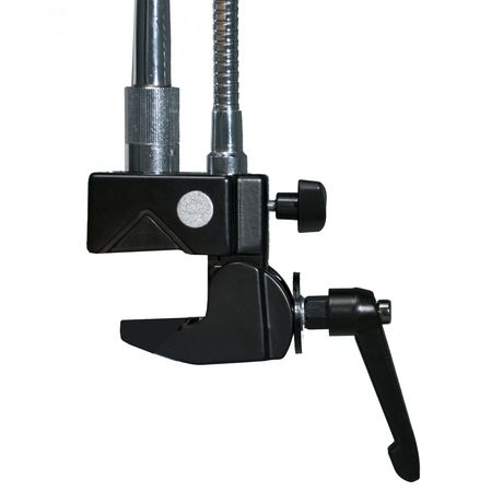 CTA Digital CTA Heavy-Duty Dual Gooseneck Clamp Stand with Laptop And Tablet Holders (7-13 Inch Tablets) - image 2 of 4