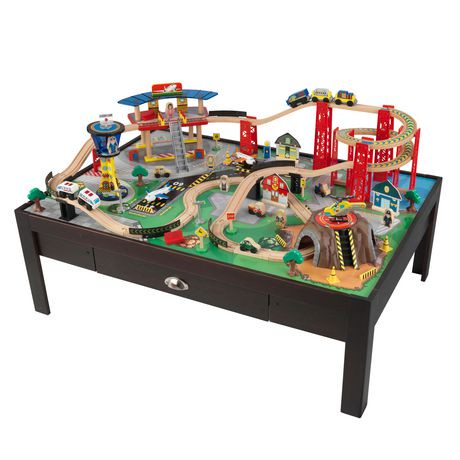 Kidkraft Airport Express Train Table Set Walmart Canada