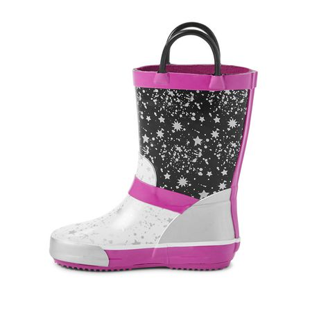Weather Spirits Toddler Girls' Pool Space Rainboots - image 3 of 4