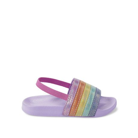 George Toddler Girls' Rainbow Sandals - image 1 of 4
