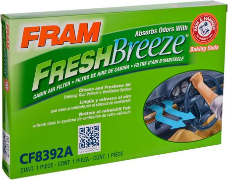 fram® fcf8392a fresh breeze® cabin air filter | walmart canada