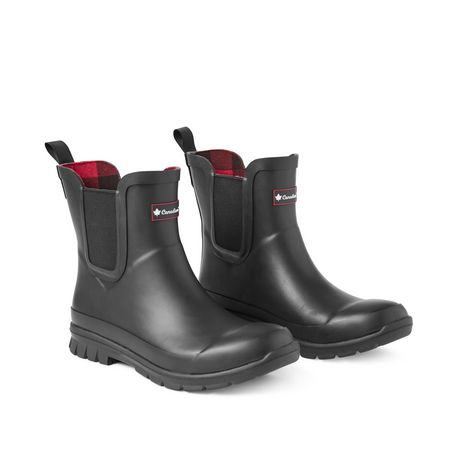 Canadiana Women's Checkers Rainboots - image 2 of 4