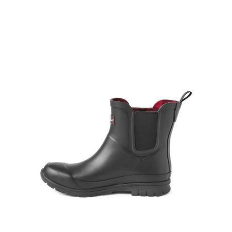Canadiana Women's Checkers Rainboots - image 3 of 4