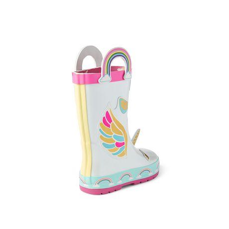 Weather Spirits Toddler Girls' Unicorn Rainboots - image 4 of 4