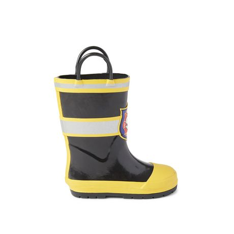 Weather Spirits Toddler Boys' Firefighter Rainboots - image 1 of 4