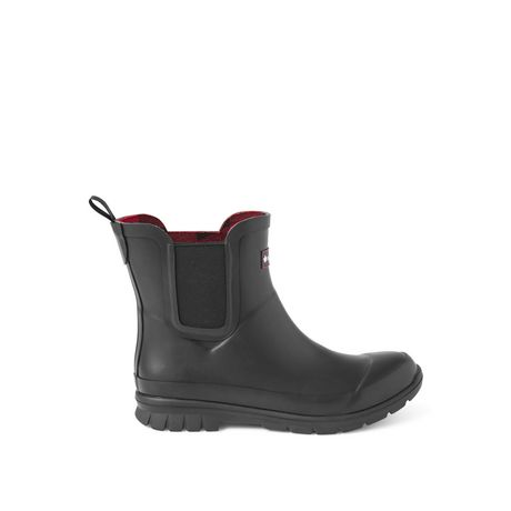 Canadiana Women's Checkers Rainboots - image 1 of 4