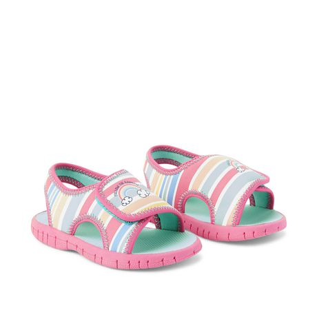 George Baby Girls Rainbow Sandals Walmart Canada