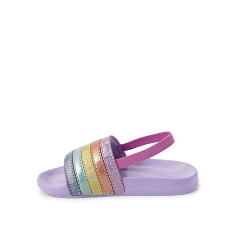 George Toddler Girls' Rainbow Sandals - image 3 of 4