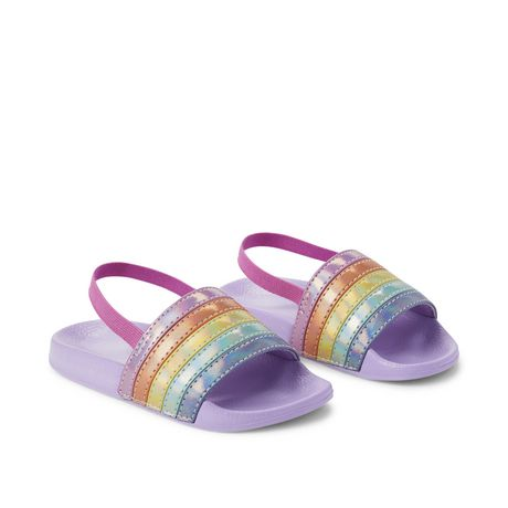 George Toddler Girls' Rainbow Sandals - image 2 of 4