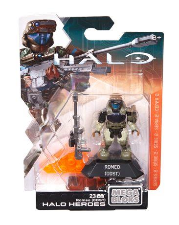 MEGA BLOKS Mega Construx HALO Heroes Series 2 Romeo Odst Figure