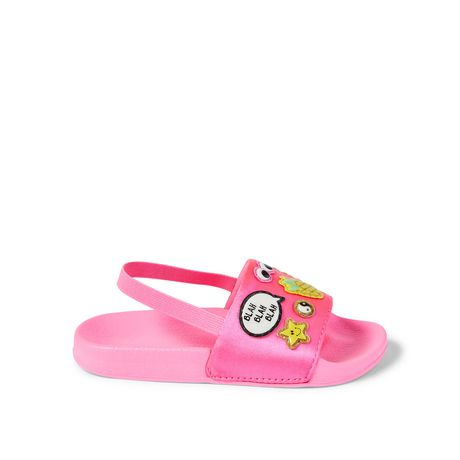 George Toddler Girls' Attitude Sandals - image 1 of 5
