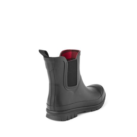 Canadiana Women's Checkers Rainboots - image 4 of 4