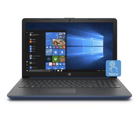 "HP 15.6"" 15-db0099ca Touchscreen Laptop AMD A6-9225 6SH73UA#ABL - image 1 of 4"