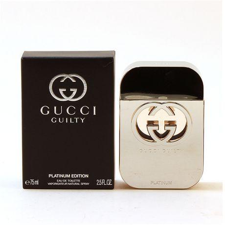 6ccefaae4f4 Gucci Guilty Platinum for women - Eau De Toilette Spray 75ml - image 1 of 1  ...
