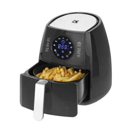 Kalorik Digital Air Fryer with Dual Layer Black | Walmart