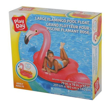 Play Day Large Flamingo Pool Float - image 3 of 3